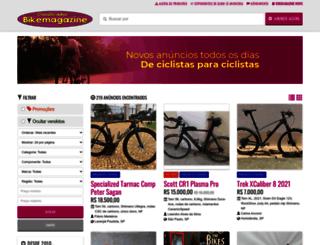 classificados.bikemagazine.com.br screenshot