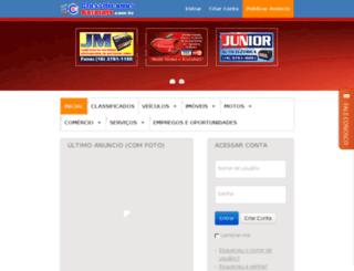 classificadosbatatais.com.br screenshot