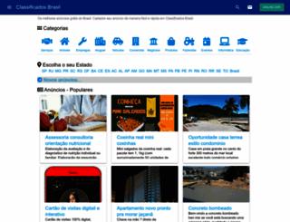 classificadosbrasil.com screenshot