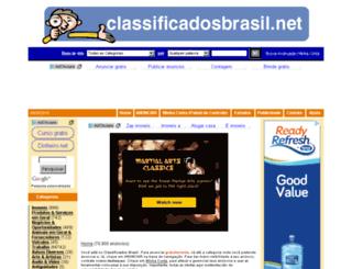 classificadosbrasil.net screenshot
