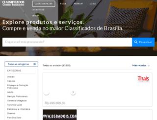 classificadoscorreio.com.br screenshot