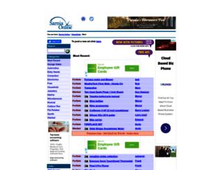 classified.sarnia.com screenshot