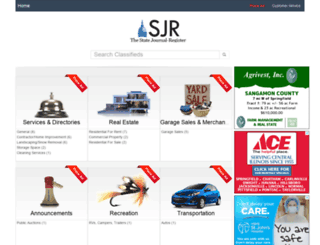classified.sj-r.com screenshot