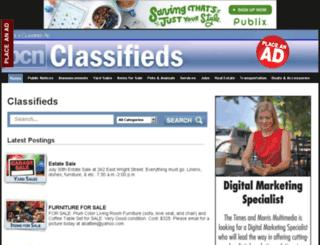 classifieds.barrowcountynews.com screenshot