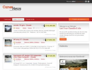 classifieds.camernews.com screenshot