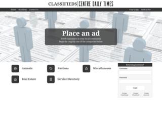 classifieds.centredaily.com screenshot