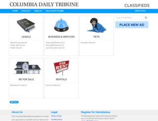 classifieds.columbiatribune.com screenshot