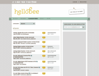 classifieds.hellobee.com screenshot