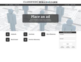 classifieds.kentucky.com screenshot