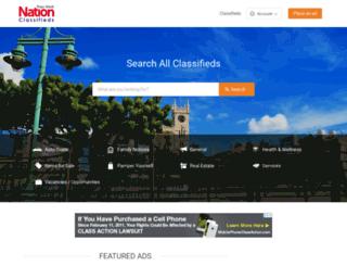 classifieds.nationnews.com screenshot