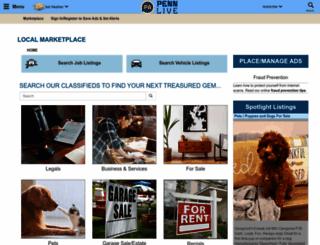 classifieds.pennlive.com screenshot