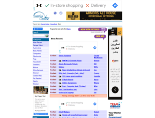 classifieds.sarnia.com screenshot
