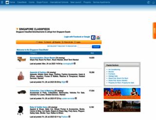 classifieds.singaporeexpats.com screenshot