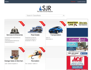 classifieds.sj-r.com screenshot