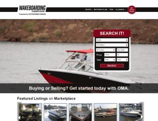 classifieds.wakeboardingmag.com screenshot