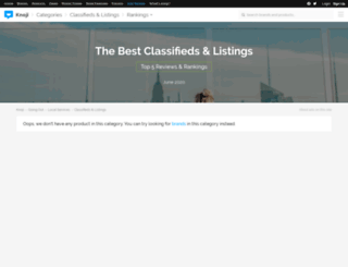 classifiedslistings.knoji.com screenshot