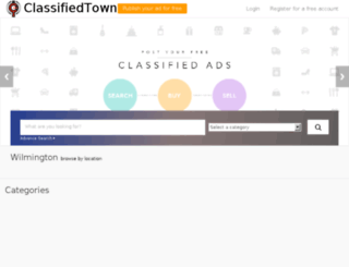 classifiedtown.in screenshot