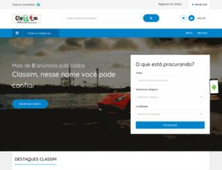 classim.com.br screenshot