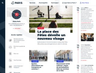 classiqueauvert.paris.fr screenshot
