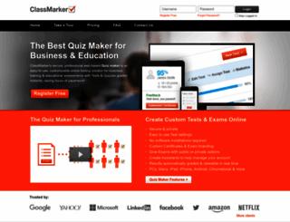 classmarker.com screenshot