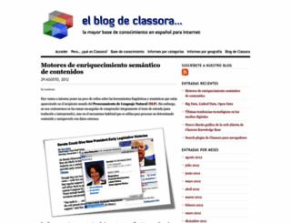 classora.wordpress.com screenshot