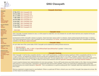 classpath.org screenshot