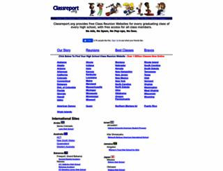 classreport.org screenshot