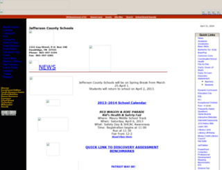 classroom.jc-schools.net screenshot