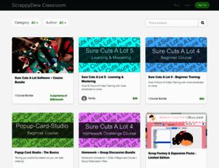 classroom.scrappydew.com screenshot