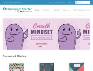 classroomstarter.com screenshot