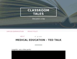classroomtales.com screenshot