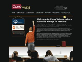 classvalues.com screenshot