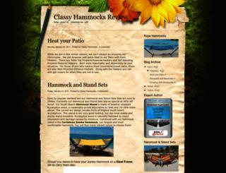 classyhammocksreview.blogspot.com screenshot