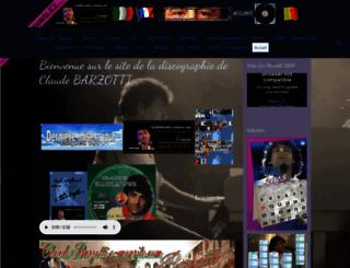 claudebarzotti.fr screenshot