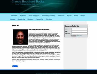 claudebouchardbooks.com screenshot