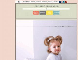 claudiaveja.com screenshot