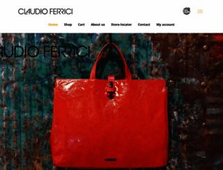 claudio-ferrici.com screenshot