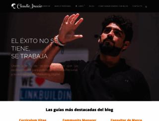 claudioinacio.com screenshot