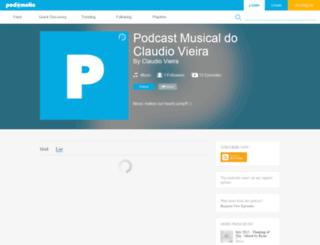 claudiovieira.podomatic.com screenshot