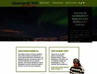 claudiumdiewelt.de screenshot