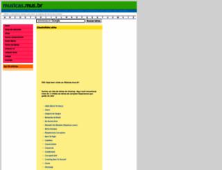claustrofobia.musicas.mus.br screenshot