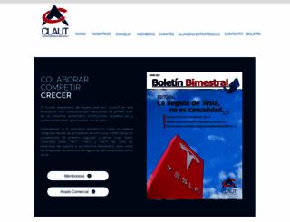 claut.com.mx screenshot