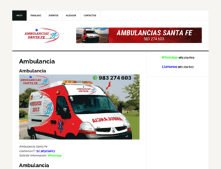 clavesantafe.com screenshot