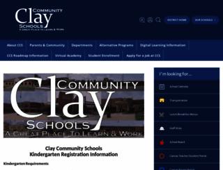 clay.k12.in.us screenshot