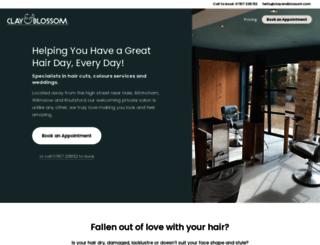 clayandblossom.com screenshot