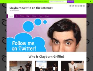 clayburngriffin.com screenshot