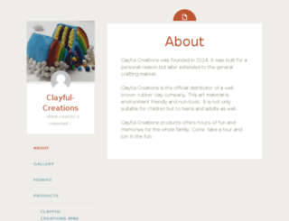 clayful-creations.com screenshot