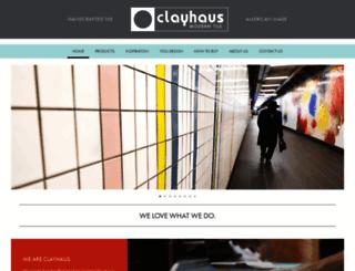 clayhouseceramics.com screenshot
