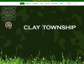 clayohio.org screenshot