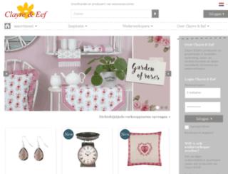 clayre-eef.oswshop.nl screenshot